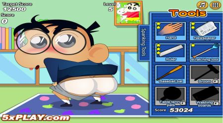 Screenshot - Crayon Shinchan Spanking